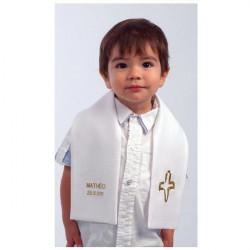 Echarpe de Baptême