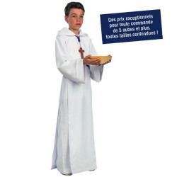 Aube de servant de messe réf. François