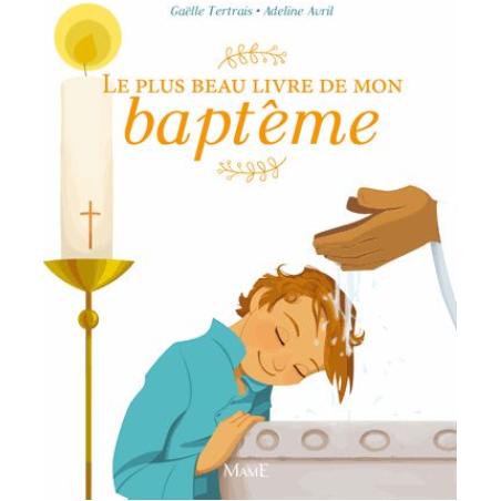 Le plus beau livre de mon baptême